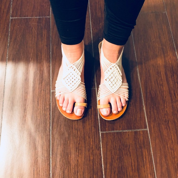 Mossimo Supply Co. Shoes - Crochet sandals